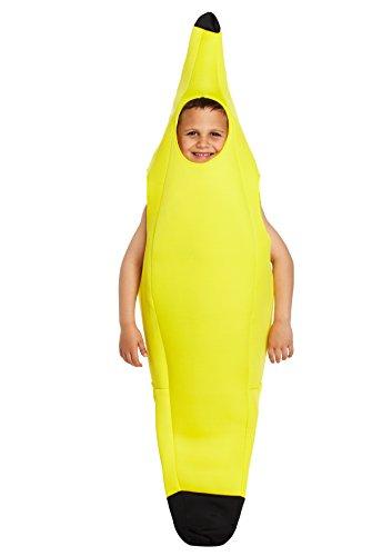 Disfraz infantil Banana Grande 10-12 AÑOS