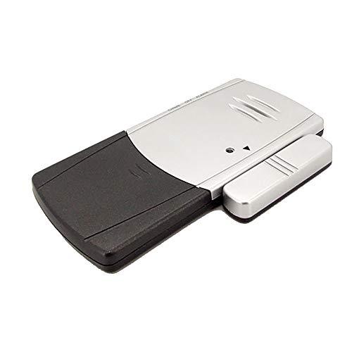 Sensor de ventana o puerta 100 DB Magnético Puerta Sensor de alarma Sensor 2 Paquete 2 Modos para la seguridad de la tienda de casas de seguridad Ladrón local ( Color : Black silver , Size : 2 pack )