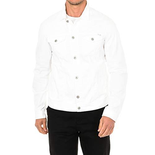 Armani Jeans Blouson, Farbe:weiß, Größe:50