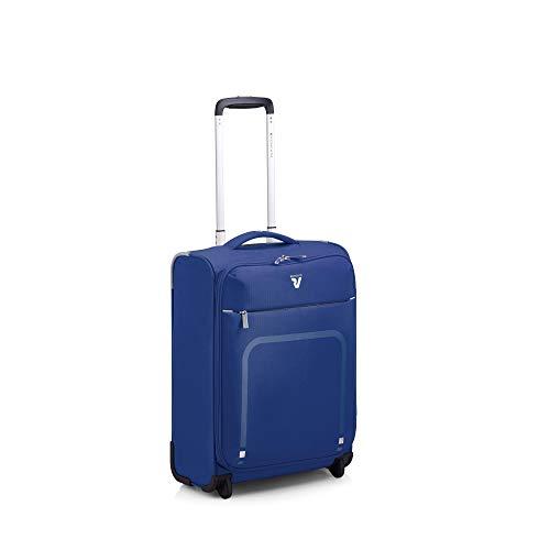 Roncato Lite Plus Maleta Cabina avión Azul, Medida: 55 x 40 x 20 cm, Capacidad: 42 l, Pesas: 1.4 kg, Maleta Cabina avión ryanair