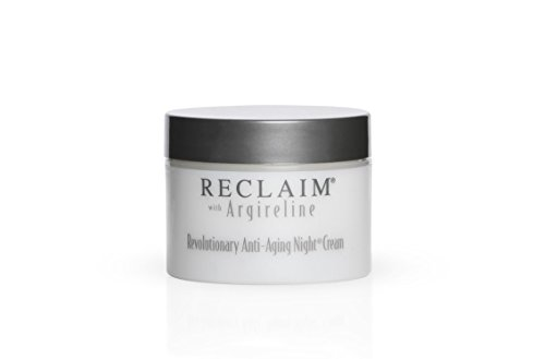 RECLAIM - Revolutionary Anti-Aging Night Cream - Argireline Molecular Complex - Deep Moisture, Minimizes look of Fine Lines and Wrinkles, 1 oz, by Principal Secret