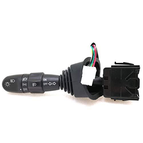 PanYFDD Interruptor de señal de giro del coche lámpara de niebla 96387324 para Daewoo Lacetti Lanos para Chevrolet