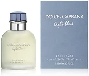 Dolce and Gabbana Light Blue Pour for Men Eau de Toilette - 125 ml