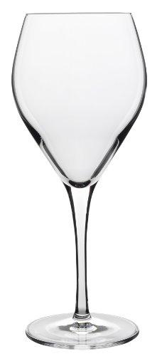 Luigi Bormioli 7540421 Prestige Atelier Boîte de 6 Verres à Vin Cristal Transparent 8,5 x 8,5 x 20,5 cm