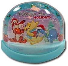 Winnie The Pooh Christmas Lenticular Plastic Snowglobe