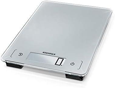 Soehnle Aqua Proof Dishwasher Proof and Waterproof Digital Kitchen Scale Silver product image