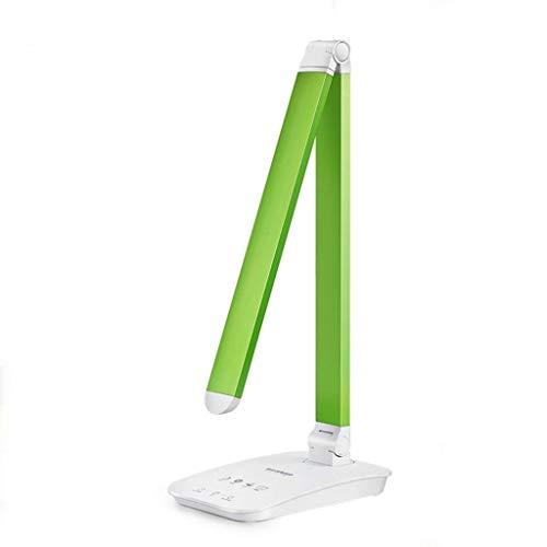 Escritorio LED de la lámpara LED lámpara de escritorio, Eye-El cuidado lámparas de mesa, control táctil, luz de la noche, Estudiante dormitorio dormitorio de lectura recargable lámpara de escritorio L
