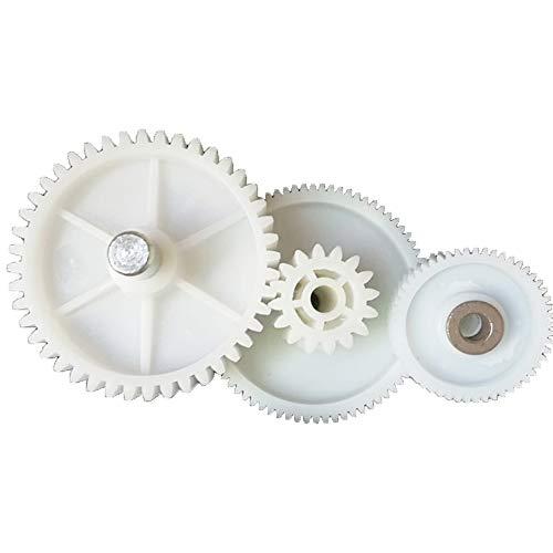 SHEAWA Kit de repuesto para molino de carne VITEK piezas de repuesto de engranajes de plástico 3 piezas