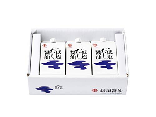 鎌田醤油 低塩だし醤油200ml 3ヶ入