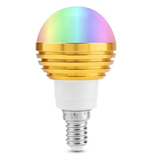 Smart Wi-Fi Bulb, Sturdy Smart Light Bulbs 5 5 7cm Made of Pc and Aluminum 6W (RGB+Cw)
