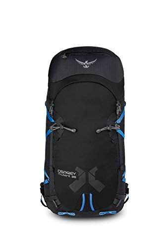 Osprey New Mutant 38 Sac à Dos d'escalade en Plein air 17Black, Noir, Taille Unique
