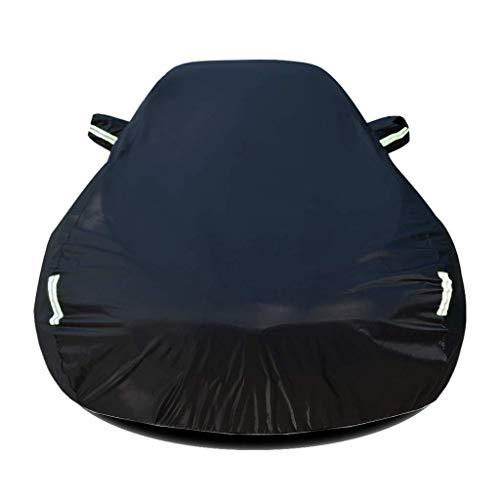 Autoabdeckung Autoabdeckung Kompatibel mit Opel Zafira Car Cover Car Persenning Sonnenschutz Regen Staub Frostschutz- Eindickung Isolierung Oxford Cloth Car Cover A Plane (Farbe, Schwarz), Schwarz