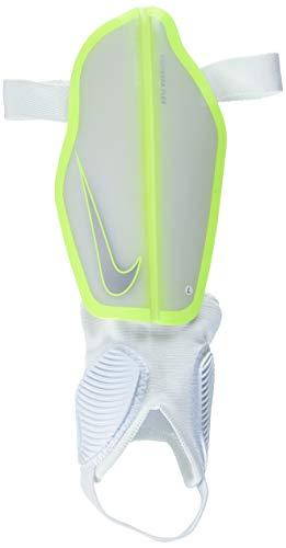 Nike Unisex Erwachsene Protegga Flex Schienbeinschoner, Weiß (White/Volt/Volt), L