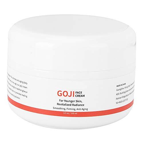Crema facial hidratante de bayas de Goji, Crema facial antiarrugas antienvejecimiento, Suministros para el cuidado de la piel