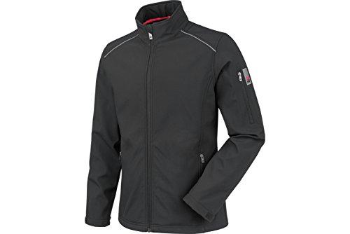 WÜRTH MODYF City Softshelljacke: Die leichte Jacke sorgt für mehr Komfort und bietet optimalen Schutz vor Wind & Wetter. Die Jacke ist in XL & schwarz verfügbar.