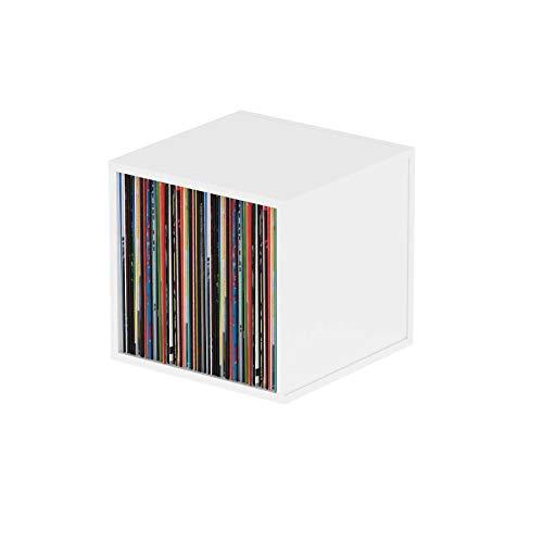 Glorious Record Box white 110 - sostiene discos de 110 12