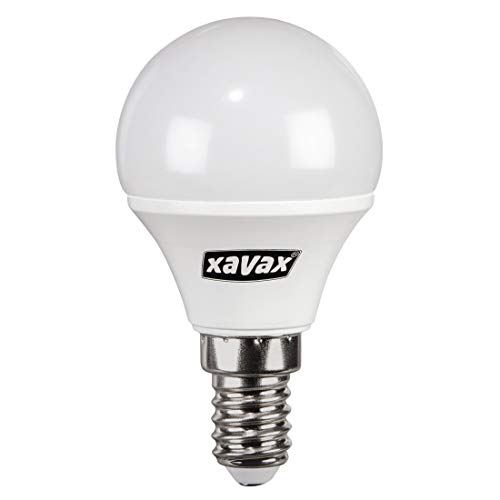 Xavax 00111423 LED, E14, 250 lm lampen, rond, 25 W, warm wit
