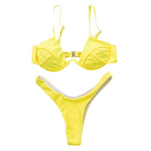 N\P Bikini sexy en 4 colores amarillo S