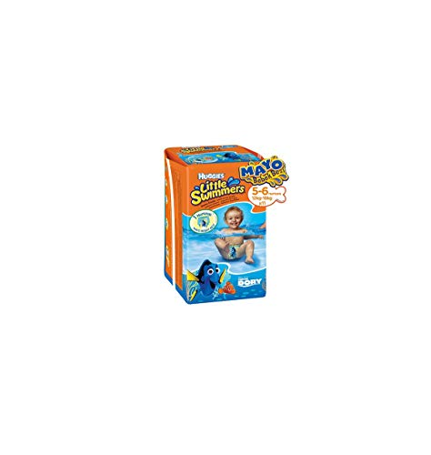 Huggies Pañales Little Swimmers para Nadar, Talla 5/6