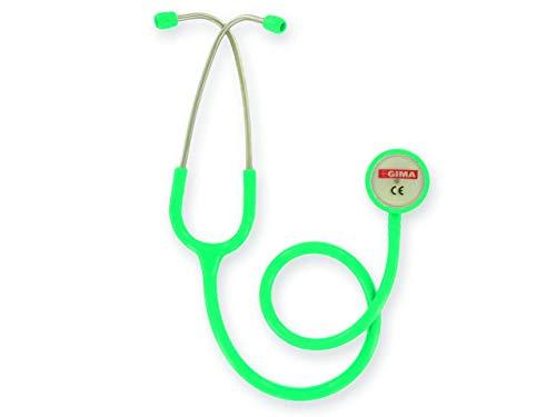 GIMA 32537 Stesoscopio Duofono Classic, Adulti, Verde