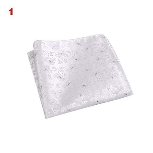Huaheng Vintage Mannen Brits Ontwerp Bloemen Print Pocket Vierkante Zakdoek Borst Handdoek Pak Accessoires 15