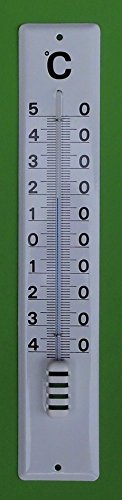 Emaille Thermometer Hauswandthermometer 40 cm
