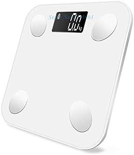 Báscula de pesaje, básculas 2019 Báscula Inteligente de Pesas Pesas científicas Pesas Báscula de Grasa Corporal Baño Balanza Digital Connect Básculas de pesaje Aplicación Bluetooth Báscula de pesaje