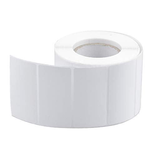 800 Piezas Etiquetas Adhesivas Blancas, Etiquetas Congelador Transparentes Personalizadas para Impresora, Regalos, Comida, Frascos, Botellas