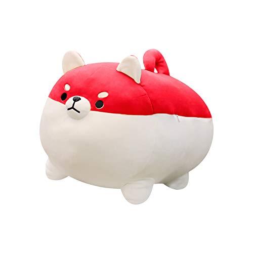 RYGHEWE Anime Shiba Inu Plush Dog Stuffed Animal Puppy Hugging Pillow, Small Mini Plushie Birthday New Year Valentine's Day Gift for Girl Boy Girlfriend (C)