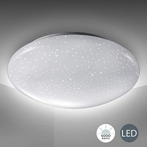 Lámpara de techo LED, decoración de cielo estrellado, lám