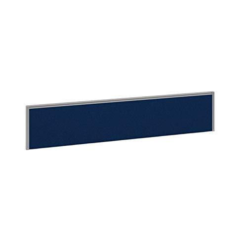 DAMS Pisa tavolo rettangolare con basi rotonde cromate 1600mm x 800mm - faggio