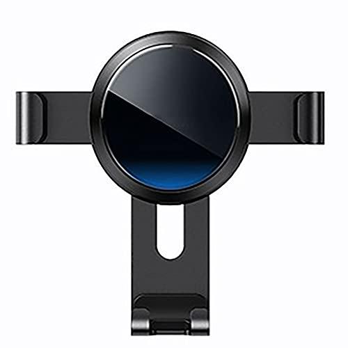 Soporte Para Teléfono Para Automóvil, Soporte Para Teléfono Ventilado Para Automóvil, Soporte Para Teléfono Giratorio De 360 grados, Adecuado Para Teléfonos Móviles De 4.7 A 7 Pulgadas(Color:blue)