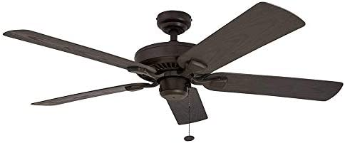 Tropical Ceiling Fan 52 Inch Indoor Outdoor Ceiling Fan With 5 Piece Damp Rated Fan Blades Family Living Ceiling Fan Buy Online At Best Price In Uae Amazon Ae