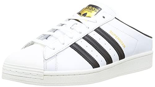 adidas Superstar Mule, Zapatillas Deportivas Hombre, FTWR White Core Black Gold Met, 46 EU