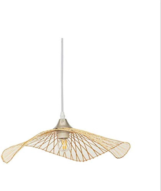 Moderner Kronleuchtermoderne Kreativitt Lichter Led Bambus Pendelleuchten Bar Cafe Home Art Weben Hngelampen Für Esszimmer Loft Pendelleuchten 35 Cm