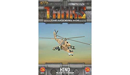Gale Force Nine Soviet Mi-24 Hind Helicopter Exp. (inglés)