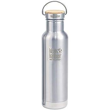 Klean Kanteen Edelstahlflasche Flasche Classic Sports Cap talla 0.8 litros Frasco color Negro