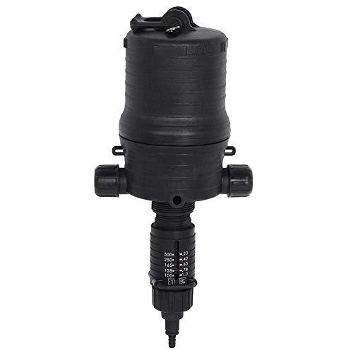 Adjustable Fertilizer Injector,Automatic Fertilizer Injector Water Powered Chemical Liquid Doser Dispenser Drip Irrigation Injector for Industry Garden Hose Livestock (2 Types)(0.2-1%)