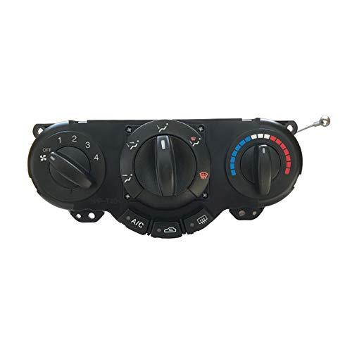 Reunion Coche A/C Panel DE Control DE Calentador 96615408 Conector de Aire Connection Fit para Daewoo Lacetti Chevrolet Nubira OPTRA Excelle (Color Name : Black)
