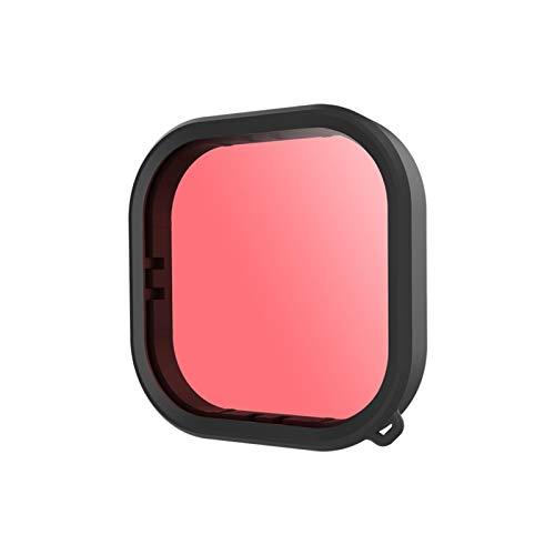 Filtro de buceo para GoPro Hero 9 mejora los colores para diversas condiciones de vídeo y fotografía subacuáticas