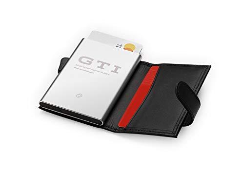 Volkswagen 5HV087403 Kreditkartenetui GTI, schwarz, Standard