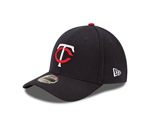 MLB Minnesota Twins Junior Team Classic Home 39Thirty Stretch Fit Cap, Blue, Child/Youth