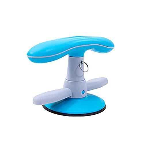 heresell Sit-Up Bar - Dispositivo de ayuda para abdominales con ventosa fuerte, portátil, ajustable, para entrenamiento abdominal, entrenamiento en casa, gimnasio, fitness, entrenamiento muscular