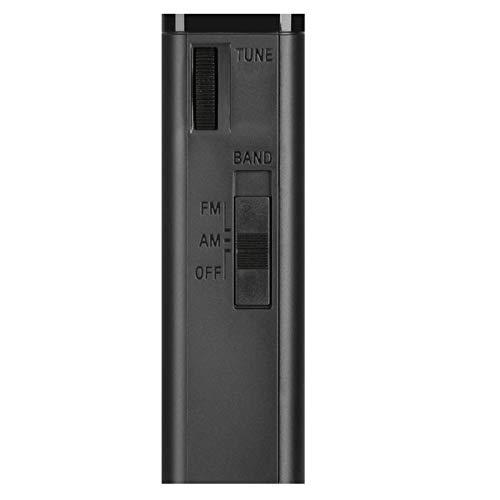 Sony ICF-P26 Analogtuner (UKW/MW mit Frontlautsprecher, Kopfhörerausgang, Batterienbetrieb) schwarz