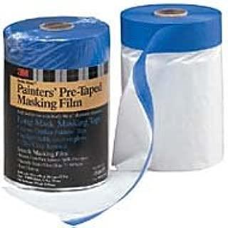 3M 06697 Hand-Masker Pre-Taped Plastic Drop Cloth 35