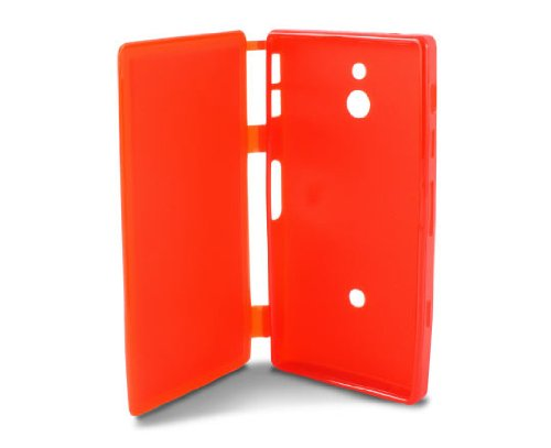 Ksix B3422FTT06- Funda folio de TPU para Sony Ericsson Xperia P Nypon...