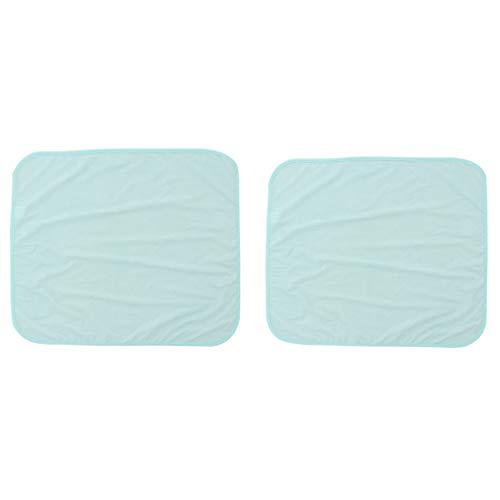 IPOTCH Packung 2 Stücke, Wasserdichte Waschbare Underpads Bett Unter Pads, Wiederverwendbare Inkontinent Pee Beschützer Für Kinder Oder ältere
