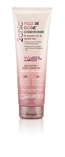 GIOVANNI - 2chic Frizz Be Gone Conditioner Shea Butter & Sweet Almond Oil - 8.5 fl. oz. (250 ml)