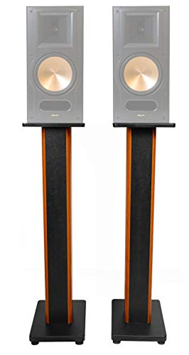 Best Price (2) 36 Bookshelf Speaker Stands for Pair Klipsch RB-81 Bookshelf Speakers