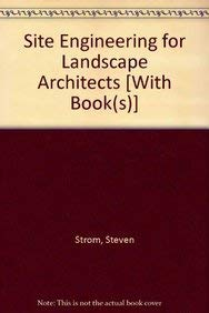Site Engineering for Landscape Architects 5th Edition with Web and Student Workbook Set